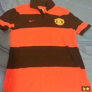 Nike Polo Tee with Manchester logo (Authentic)