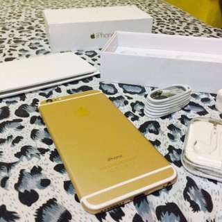 Iphone 6 LTE Gold and Spacegrey 16gb 64gb 128gb Openline Complete