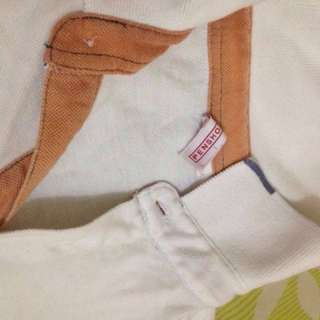 Penshoppe white polo shirt small