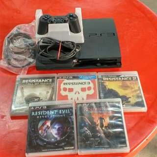 PS3+5片遊戲
