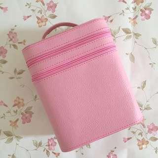 Pink Makeup Travel Organizer