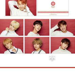 [INCOMING STOCK] BTS x SHIBUYA 109 POSTCARD LOOSE SET
