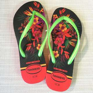 havaianas – Slim Tropical - 熱帶/夏日必備鮮豔亮麗!