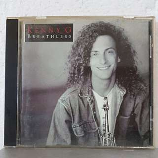 On Hold: CD》Kenny G - Breathless