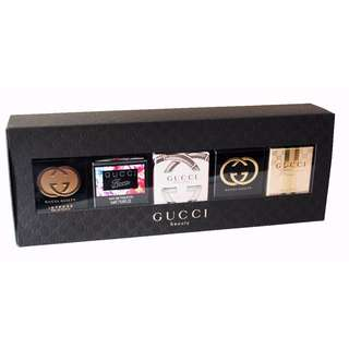 Gucci Miniature Perfume Gift Set for Women 5x5ml