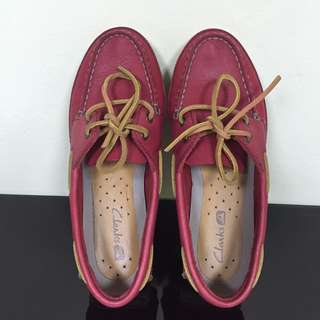 #MY1212 Clarks Jetto Boat Shoe