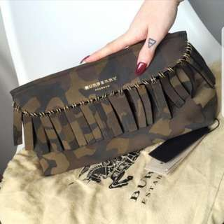 Burberry Camo Clutch/Bag