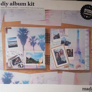 TYPO - DIY Scrap Book Kit (Set 2)