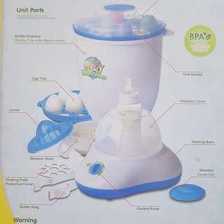Multi Purpose and Rapid Steam Sterilizer