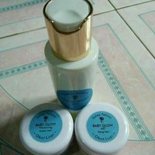 Salep pelicin babyglow axt forte ( flex tebal susah putih/kebal )