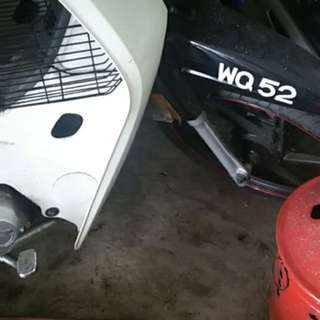 Number plate WQ52