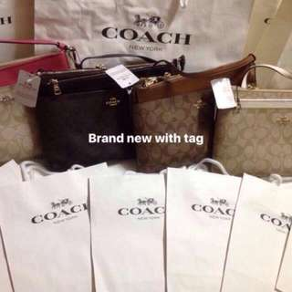 COACH BAGS AUTHENTIC