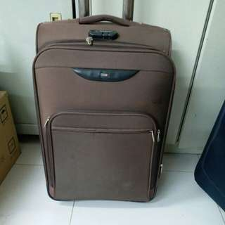 2 Wheels Luggage Size H 24inch W 15inch