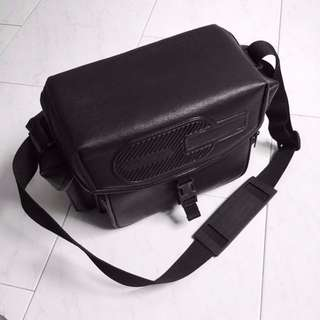 The Minimalist Black DSLR Camera Bag