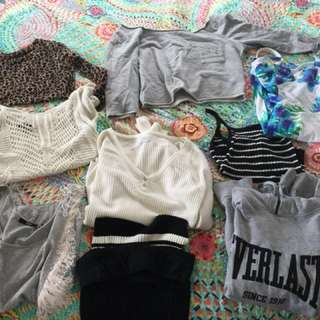 Bundle of clothes $10 each or all for $60
