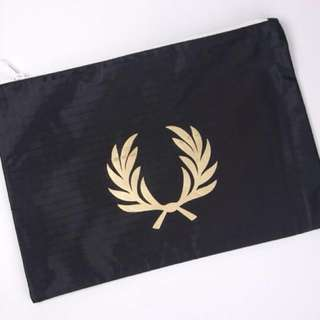 (Instock) Fred Perry student storage bag