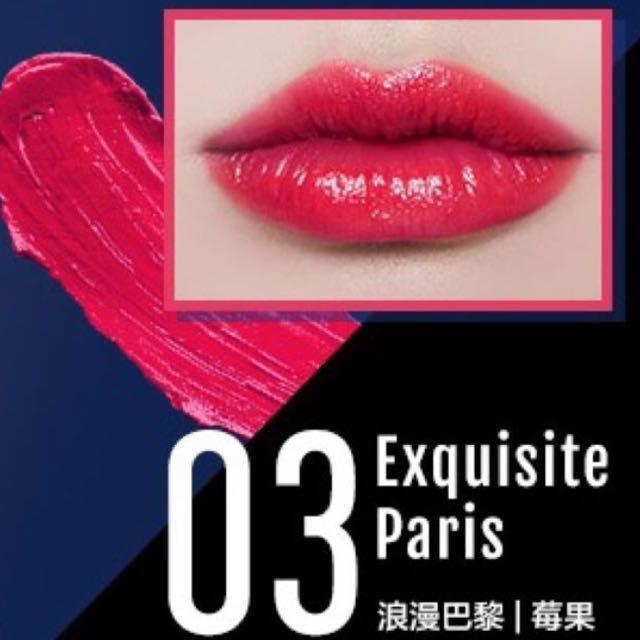 ✨全新✨1028城市CC持色唇膏浪漫巴黎莓果