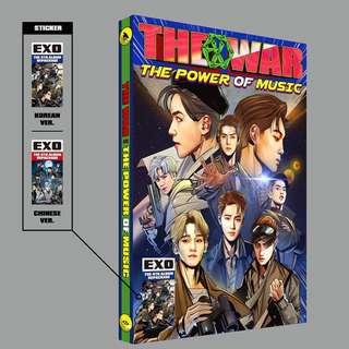 EXO THE POWER OF MUSIC ALBUM KOR & CHN VER.