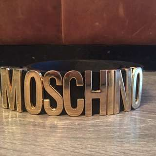 Moschino women's belt