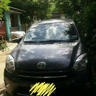Toyota Wigo A/T for rent