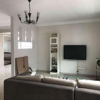5rm flat for rental, 3mins walk to cck mrt/interchange/lot1