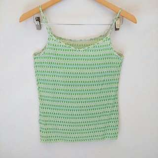Uniqlo green tanktop