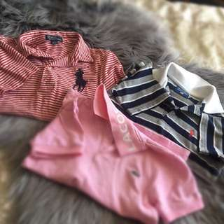 Children's shirts/polos