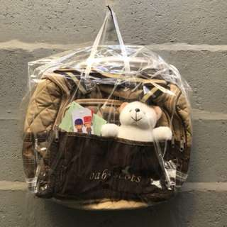 Baby scots diapers bag