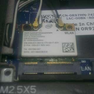 Intel centrino advanced n 6205 laptop wifi module wireless mini pci-e network pcie chip a/b/g/n 802.11 2x2 dual band mpcie