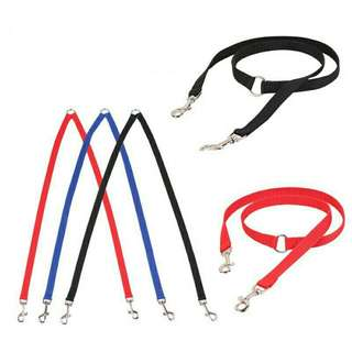 J5 pet double harness less for two dog