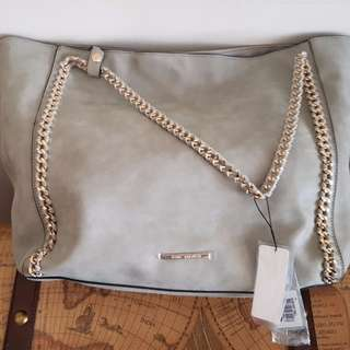 Brand New Tony Bianco Suede Leather Bag RRP $129