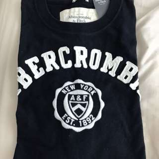 Abercrombie N Fitch Logo Tee