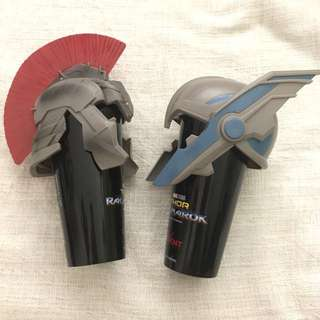 Two Thor Collectors Cups