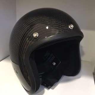 Brand new XXL bandit carbon open face helmet