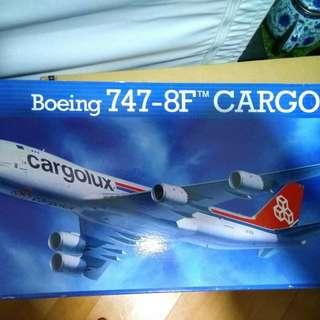 飛機模型 Cargolux 1:144