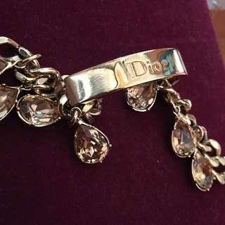 Christian Dior bracelet 黃晶手鏈