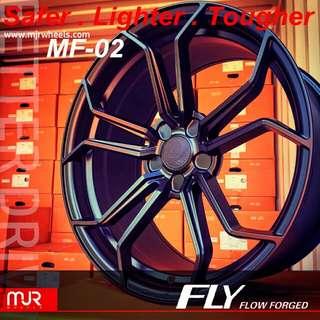 美國MJR MF02 旋壓式锻造輪圈