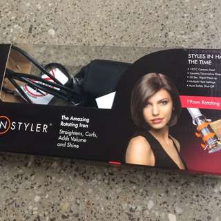 GENUINE INSTYLER STRAIGHTENER / CURLER