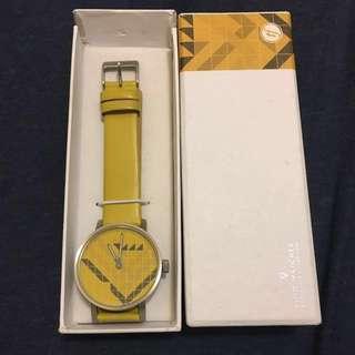 北歐Void Watch - Yellow 100%新