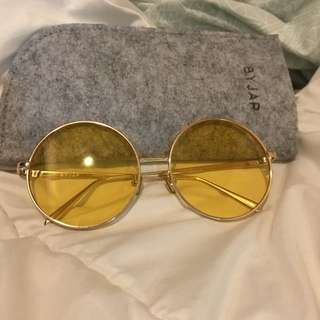 ByJAP Yellow Sunglasses