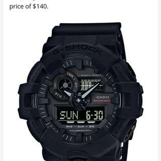 Auth Gshock limited edition