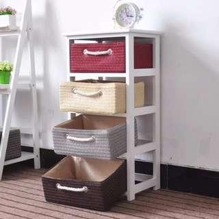 Bathroom Drawer Shelf Cabinet