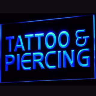 Affordable tattoos and piercings!