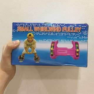 Detachable Shoe Roller Skater Pink