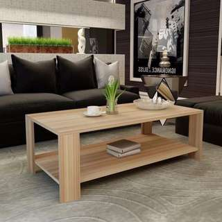 Oak Color Center Table Coffee Table Living Room Table