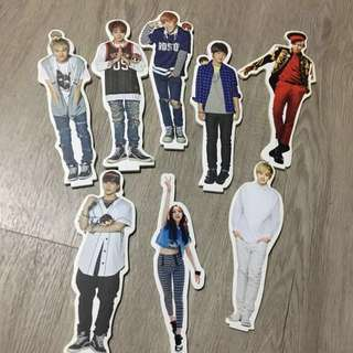 Assorted KPOP Official Standees