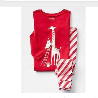 BN GAP Baby Girl Candy Stripes Holiday Sleep Set! 18-24mths! 2613541d7