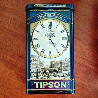 (INC 📬) TEA TIPSON TIN