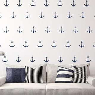 Anchor Wall Decal 50 pc set