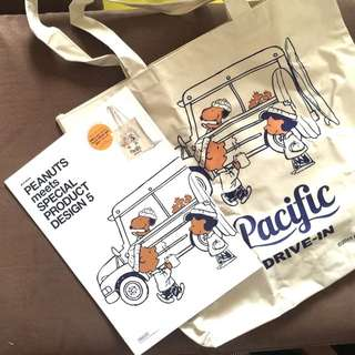 Japan Snoopy Peanuts bag